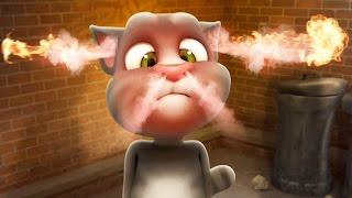 Talking Tom Cat 1 and 2 / Cartoon Games Kids TV screenshot 1
