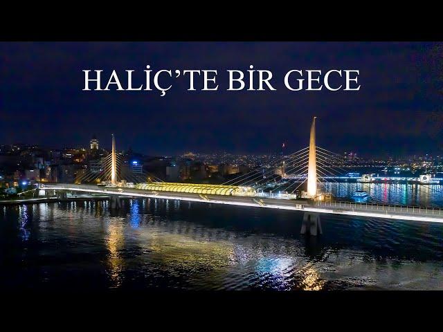 Kuşbakışı İstanbul - Unkapanı'ndan Haliç / Bird's-Eye View Istanbul - Golden Horn from Unkapanı