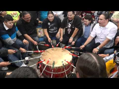 Poundmakers Tribute Song to Devere Tsatoke, FSIN Powwow 2011