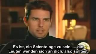 Leaked Video: Tom Cruise über Scientology - deutsche Untertitel