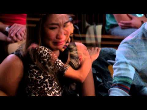 Glee Mourns Finn Hudson -I'll Stand By You sung by Cory Monteith and Amber Riley