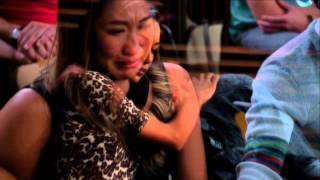 Repeat youtube video Glee Mourns Finn Hudson -I'll Stand By You sung by Cory Monteith and Amber Riley