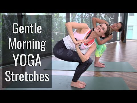 Gentle Morning Yoga Stretches to Feel Energized | HER Network
