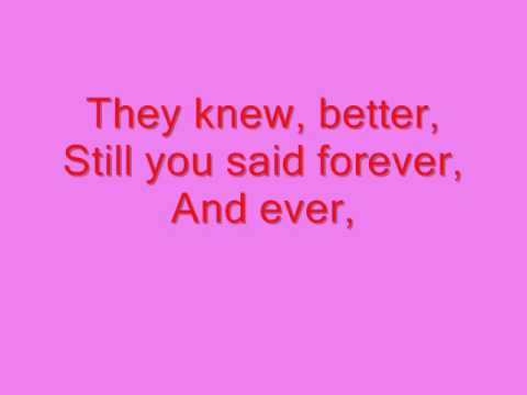 Who Knew by Pink with lyrics