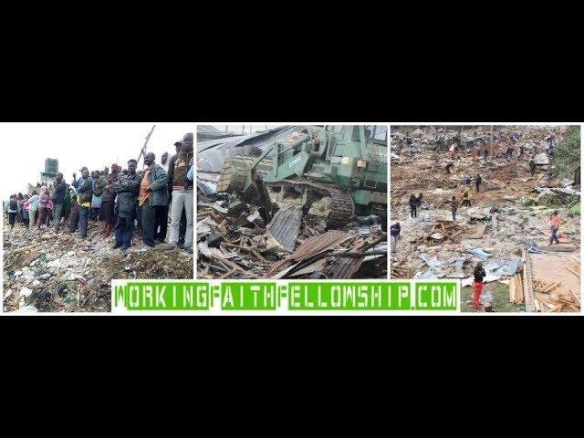 URGENT UPDATE: Kibera Slum 30,000 Homes Demolished Aftermath 7-25-2018