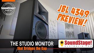 JBL 4349 Studio Monitor Bridges the Home/Studio Gap - SoundStage! Australia Lead-In (Ep:1)