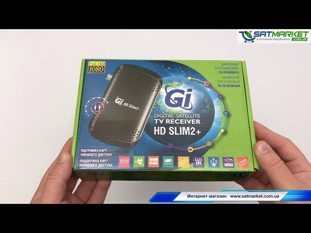 Видео обзор GI HD SLIM 2 PLUS (Galaxy Innovations)
