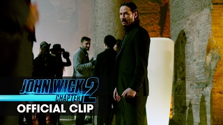 John Wick: Chapter 2 (2017 Movie) Official Clip - 'You Working'