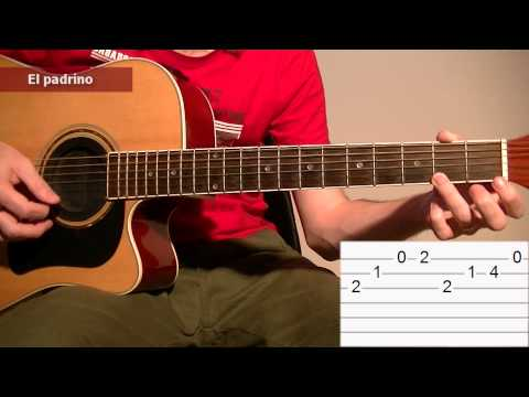 how to play the godfather theme song acoustic guitar tab lesson tcdg youtube. Black Bedroom Furniture Sets. Home Design Ideas