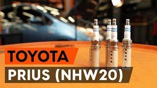 Смяна на преден десен Спирачни апарати на TOYOTA PRIUS Hatchback (NHW20_) - видео инструкции