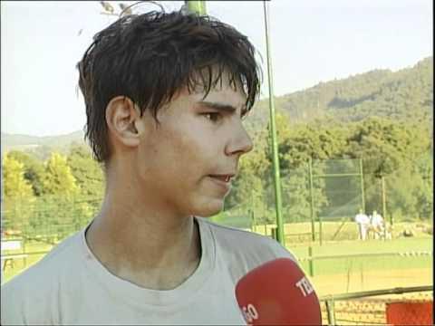 Así confesaba en Vigo el joven Rafa Nadal que soñaba con ganar Wimbledon