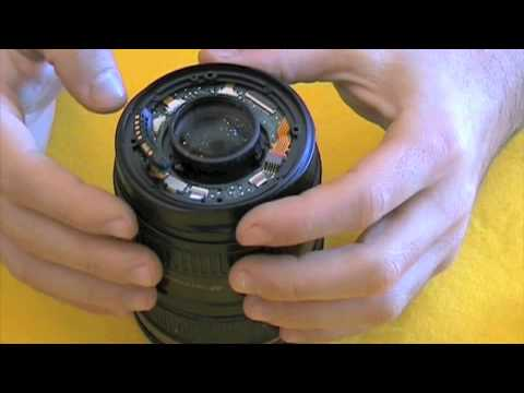 Disassemble diaphragm Canon 24 -105 Error 01 - Part 1