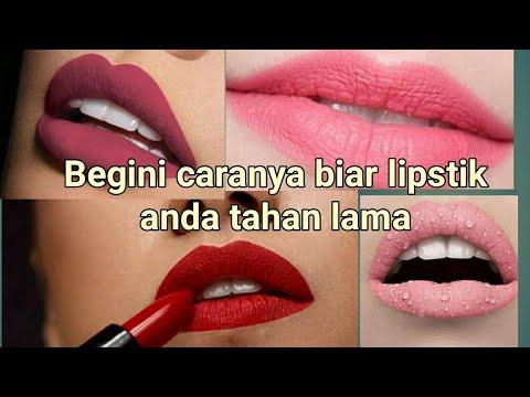 cara-agar-lipstik-tahan-lama