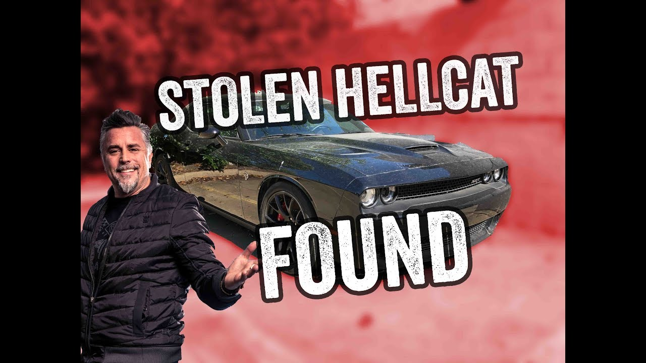 Richard Rawlings Stolen Hellcat Recovered Youtube