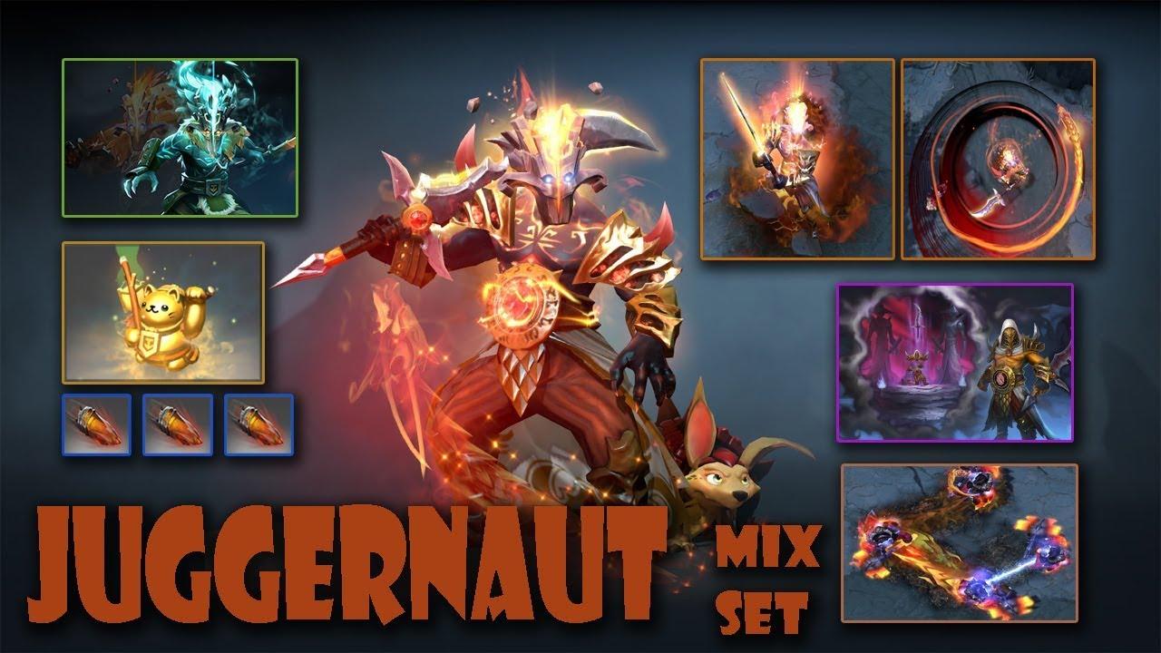 Juggernaut Dota 2 Mix Set Mount Mercy University