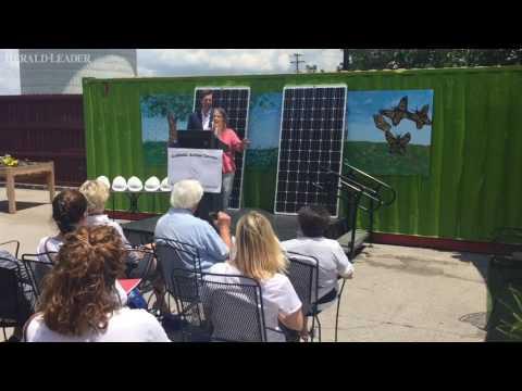 Lexington homeless shelter converts to solar energy
