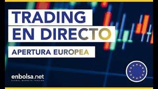Estrategias de TRADING en tiempo real en FOREX, con Metatrader. Apertura Europea #167