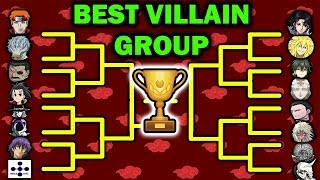 Debating the Best VILLAIN GROUP in Anime