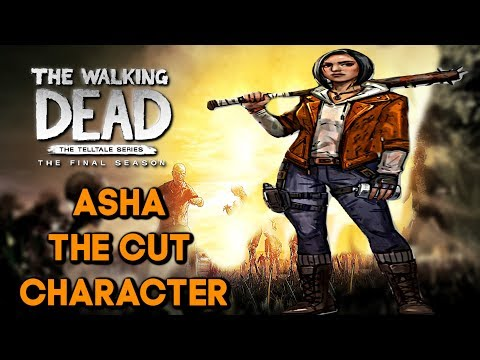 "Asha The Cut Character - The Walking Dead:Season 4: ""The Final Season"""