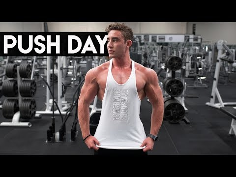 Brutal Push Workout | Chest, Shoulders and Triceps | Zac Perna
