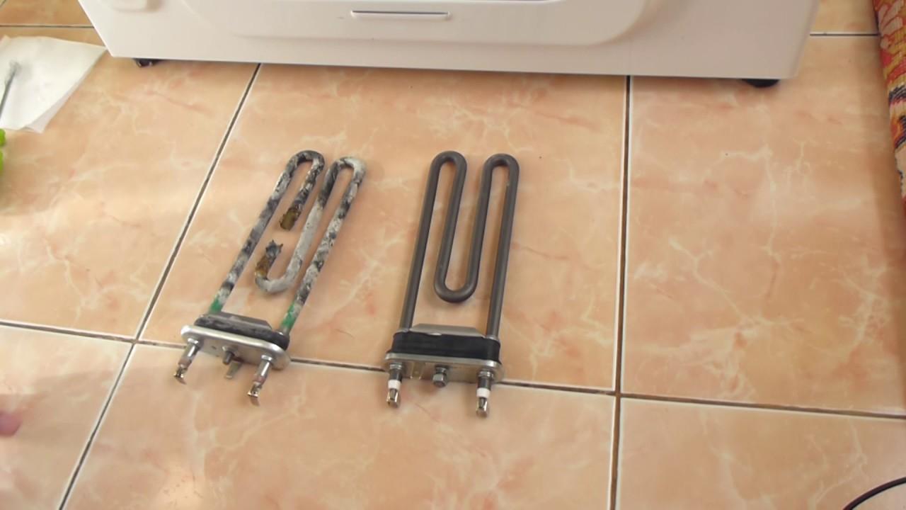 БЮДЖЕТНАЯ замена тэна в стиралке, проверка с помощью мультиметра и ПРАВИЛЬНАЯ установка (часть 2)