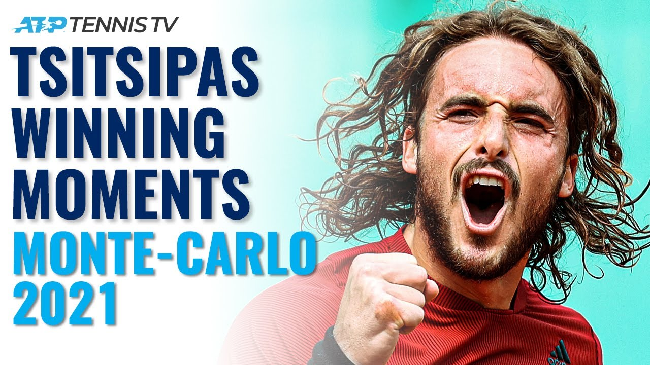Stefanos Tsitsipas Championship Point, Trophy Lift & Speech! | Monte-Carlo 2021