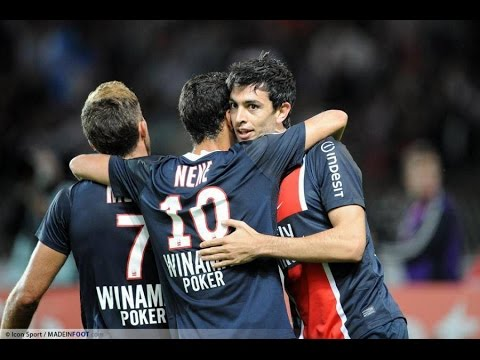 PSG - Saison 2011-2012 - Dribbles et buts (Nene-Pastore-Menez) Skills and goals