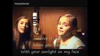Lennon & Maisy - Love (official lyrics music video)