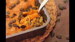 Hachis Parmentier au poulet et potiron : Délicieux ! /غراتان الدجاج و اليقطين ، لذيذ !