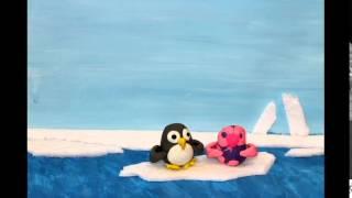 Зарядка с пингвинами