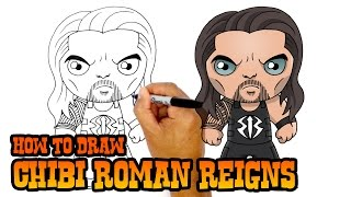 How to Draw Roman Reigns | WWE