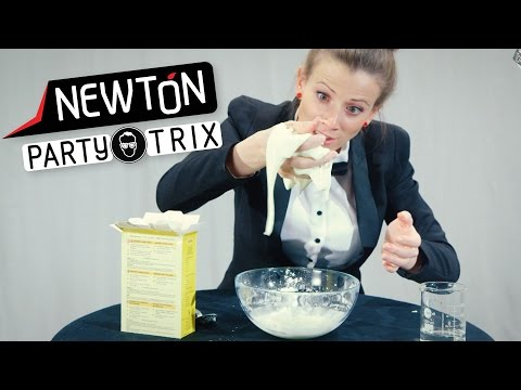 Merkelig mudder   Newton PartyTrix   NRK Super