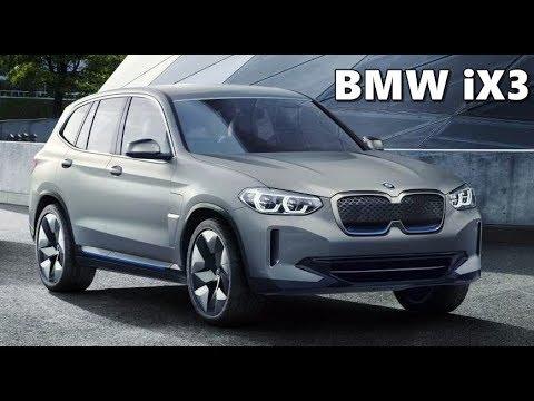 Bmw Ix3 Concept Electric X3 Walkaround