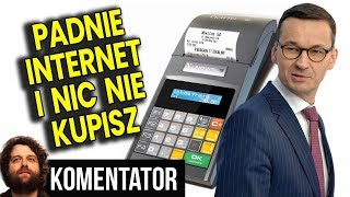 ABSURD Kasy Fiskalne TYLKO OnLine - Padnie Internet i Nic Nie Kupisz za Pieniądze Analiza Komentator