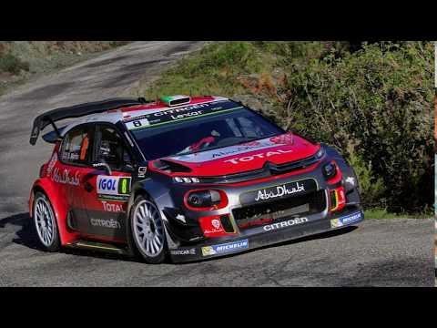 LOEB PROBARA EL CITROEN C3 WRC 2017