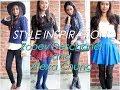 Style Inspiration: Zooey Deschanel & Alexa Chung