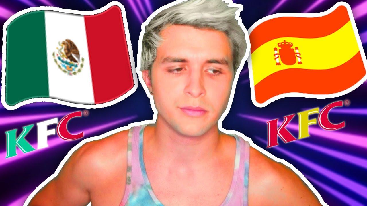 La PEOR diferencia entre México y España 🇲🇽🇪🇸 (El horrible drama entre KFC y Dalas Review)