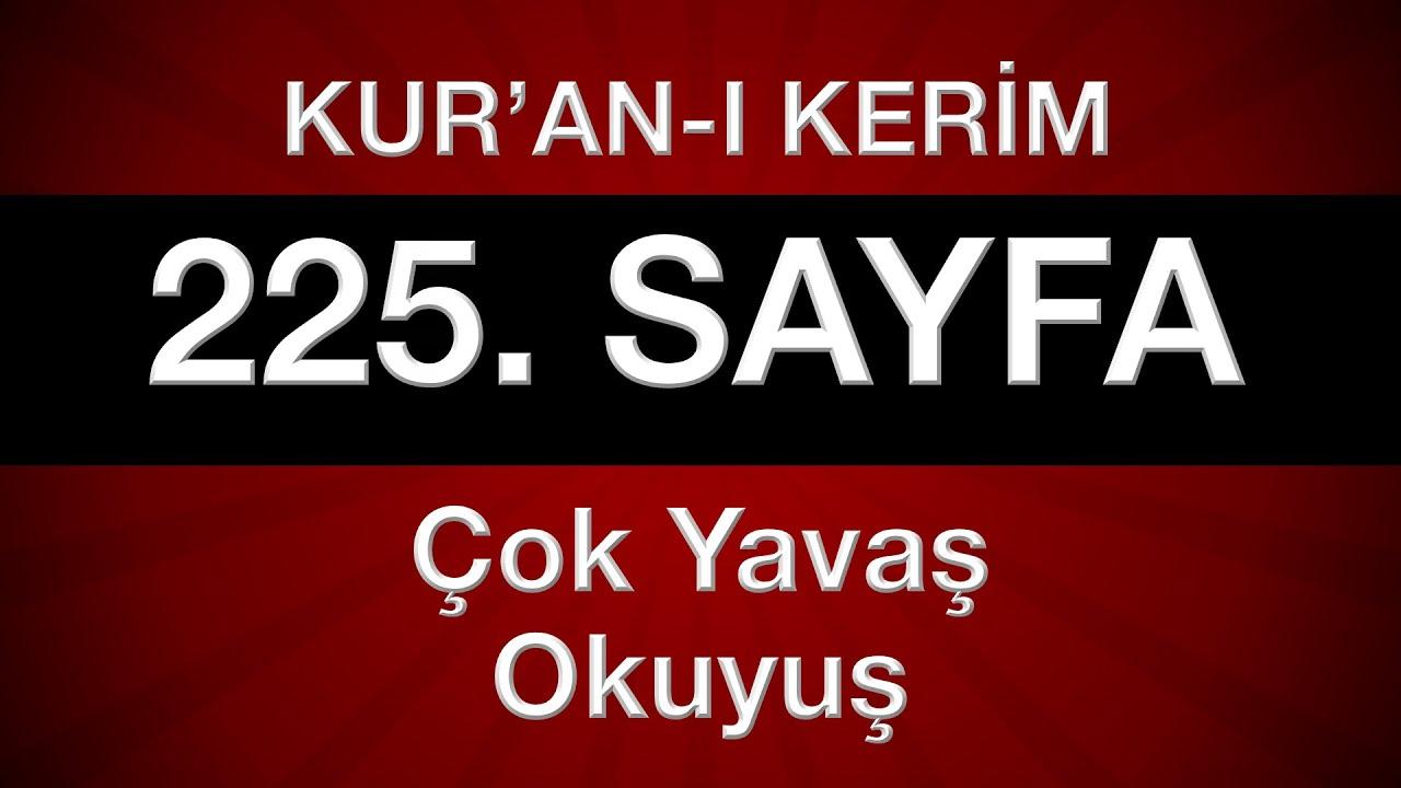 Hûd Sûresi - 225. Sayfa (Kur'an ve Meal) - Cüz 12