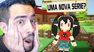 UMA NOVA SÉRIE?! A QUINTA DA FENARKIA!!! (MINECRAFT + Stardew Valley) | Staxel #1? (Em Português)