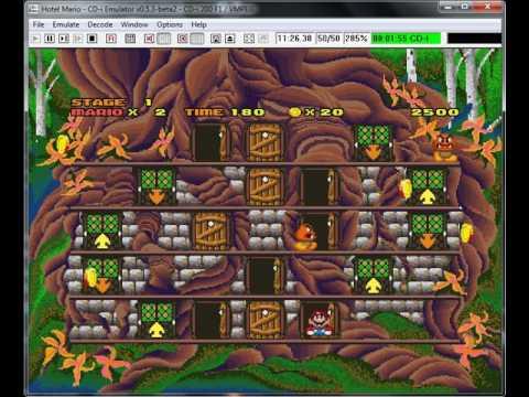 Hotel Mario Philips Cd I Emulador Cd I Emulator 0 5 3 Beta 2