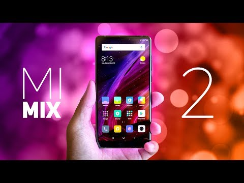 Xiaomi Mi Mix 2 Hands On!