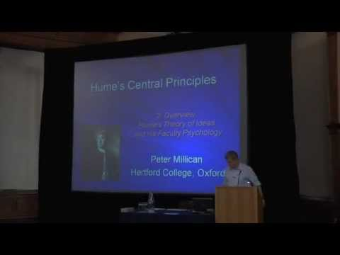 2. Hume's Central Principles: Overview, Theory of Ideas, and Faculty Psychology