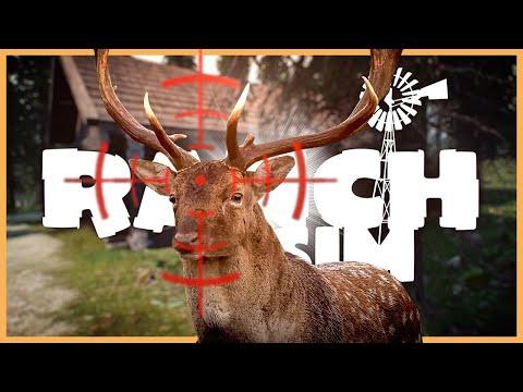 RANCH SIMULATOR 🚜 18:  Jägerhütte mit Scharfschützengewehr?