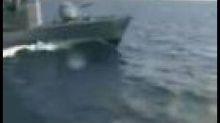 German Navy Boats crashing