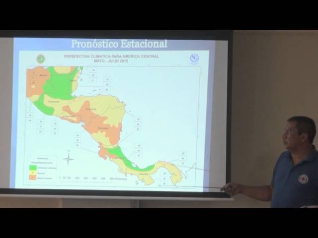 Condiciones climáticas esperadas para Honduras, meses: mayo, junio y julio 2015
