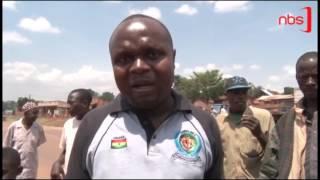 Poliisi Ekutte Abatawanya Ekibuga Jinja