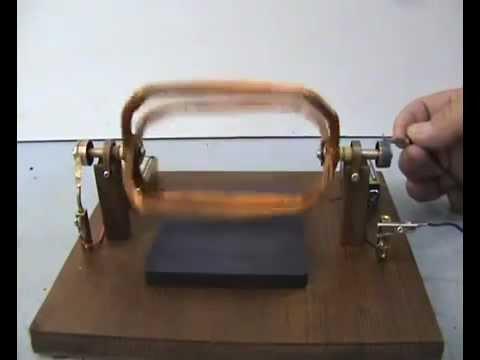 Magnetic motor - generator 2044-1 DIY plans
