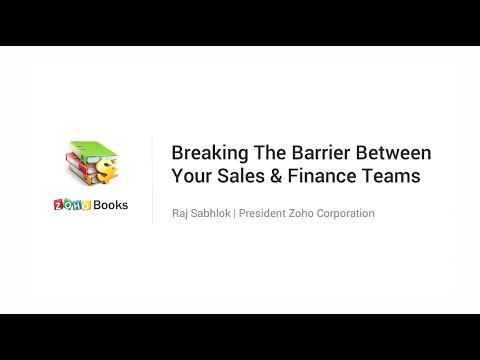 Breaking the Barrier Between your Sales and Finance Teams