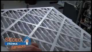 Air Flow Direction Arrow On Replacement Air Filter