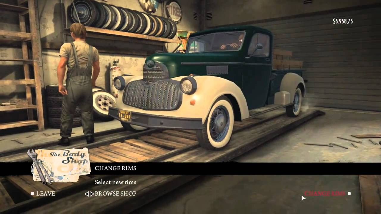 Mafia  Car Customization How To